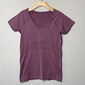 Lululemon Run: Swiftly Tech Short Sleeve Purple